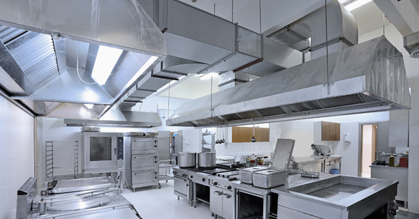 Cleaning Kitchen Exhaust Hoods Properly